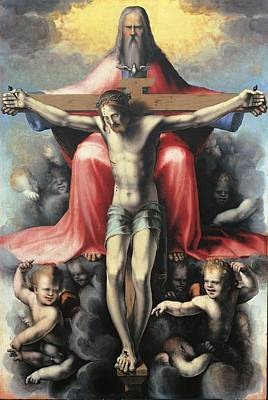 Crucifixion Symbol Photograph - Italy, Tuscany, Florence, Uffizi by Everett