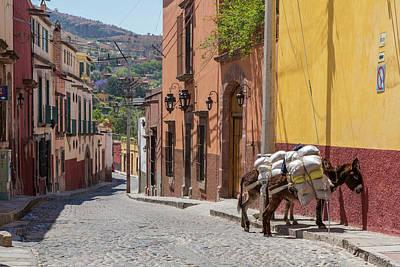 Mexico, San Miguel De Allende Art Print