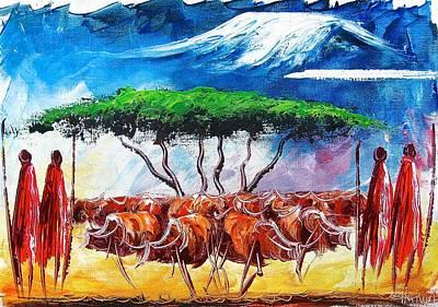 Painting - A 12 by Atanas