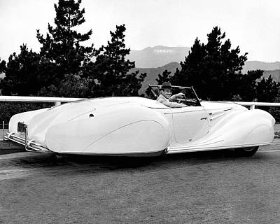 Photograph - A 1949 Delahaye Coupe by Monroe