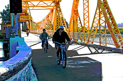Photograph - A 2013 Delta Drawbridge Crossing by Joseph Coulombe