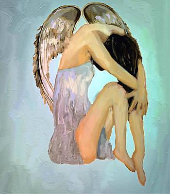 A Angels Tears Art Print by Iris Piraino
