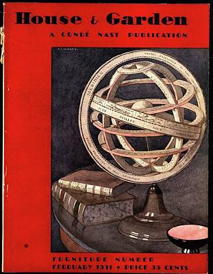 Photograph - A Armillary Sphere by Andre E.  Marty