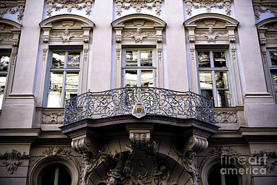 Photograph - A Balcony In Munich by John Rizzuto