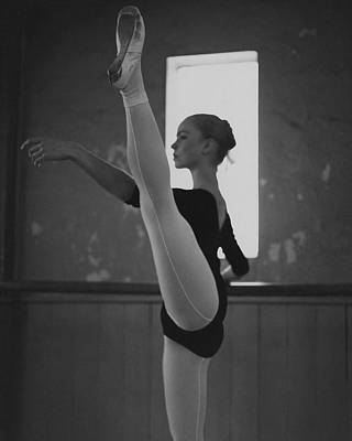 Dance Photograph - A Ballet Dancer by Horst P. Horst