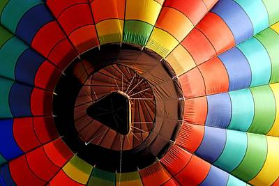 Photograph - A Balloon From Below by Daniel Woodrum