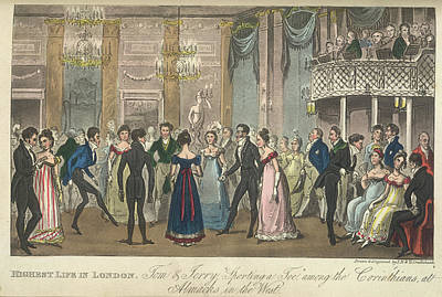 Ballroom Photograph - A Ballroom by British Library