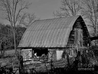 Photograph - A Barn's Life by Hominy Valley Photography