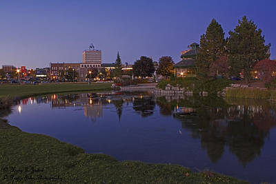 Photograph - A Barrie Good-looking Park by Hany J