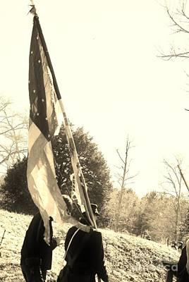 Photograph - A Battle Tested Union Flag by Jocelyn Stephenson