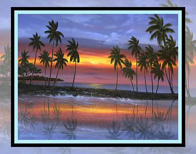 Robert Thomas Painting - A Bay by Robert Thomas