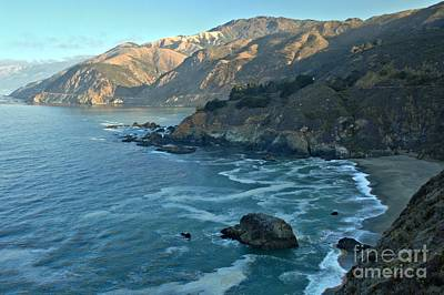 Photograph - A Beach Among The Cliffs by Adam Jewell