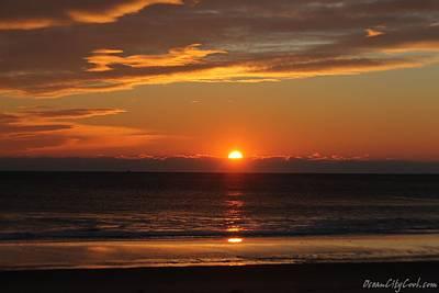 A Beach Life Sunrise Art Print