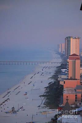 Photograph - The Deserted Beach by Jennifer E Doll
