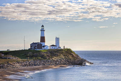 Long Island Photograph - A Beacon On The Hill by Mike Lang
