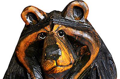 Photograph - A Bear Expression by Susan Leggett