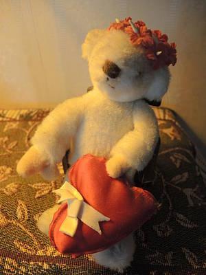 Photograph - A Bear's Love by Chrissey Dittus