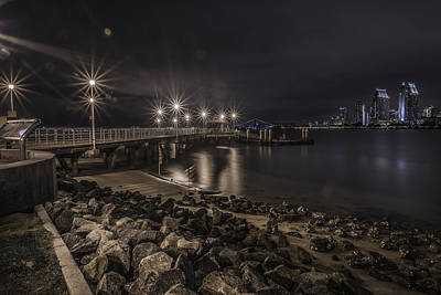 Photograph - A Beautiful Cityscape In San Diego by Israel Marino