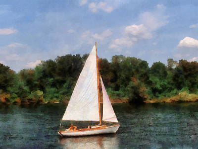 Photograph - A Beautiful Day For A Sail by Susan Savad
