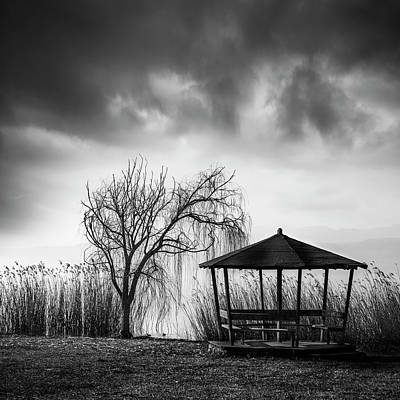 Hut Photograph - A Beautiful Day by George Digalakis
