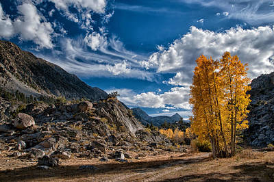 Mountain Royalty-Free and Rights-Managed Images - A Beautiful Fall Day by Cat Connor