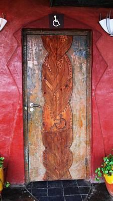 Photograph - A Beautiful Loo Door by Frank Chipasula