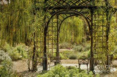 Photograph - A Beautiful Place To Relax And Reflect by Peggy Hughes
