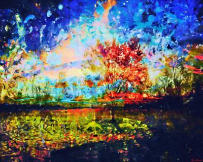 Painting - A Beautiful Tragedy by Joe Misrasi