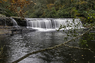 Photograph - A Beautiful Waterfall In North Carolina Land Of Waterfalls by Willie Harper
