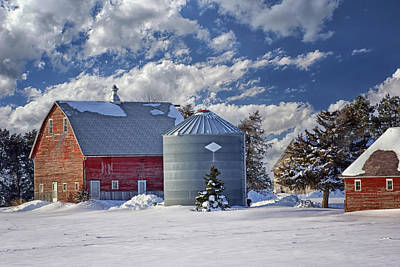 A Beautiful Winter Day Art Print by Nikolyn McDonald
