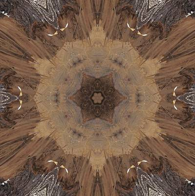 Digital Art - A Beaver's Work by Trina Stephenson