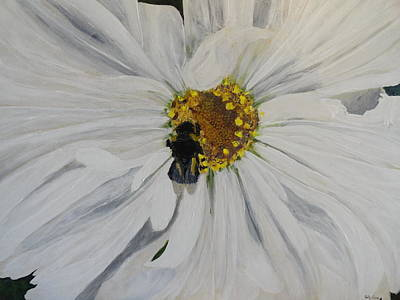 Painting - A Bee's Lunch by Betty-Anne McDonald