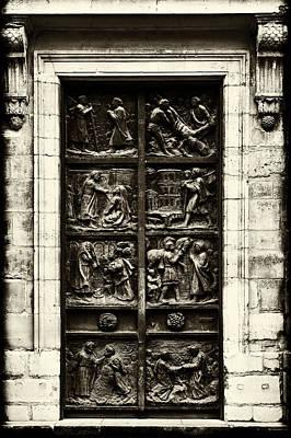 A Biblical Door Art Print