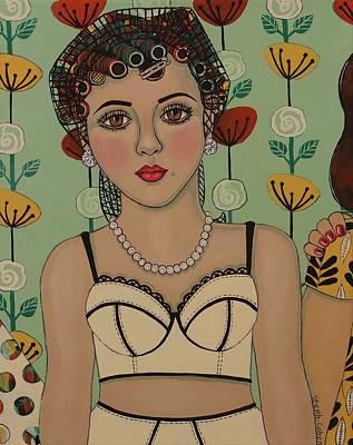 A Big Event Art Print by Stephanie Cohen