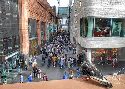 Photograph - A Bird's  Eye View Of Liverpool One by Joan-Violet Stretch