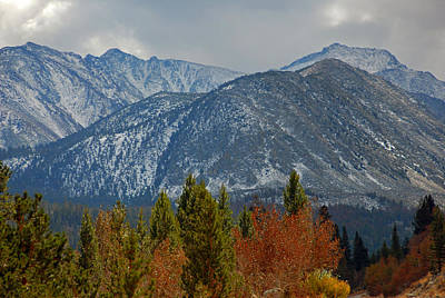 Country Photograph - A Blending Of The Seasons by Lynn Bauer