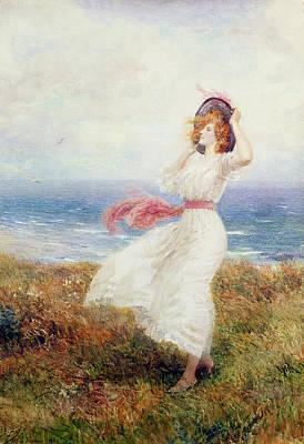A Blow On The Cliffs Print by Arthur Hopkins