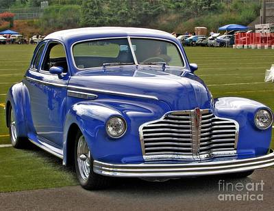 Photograph - A Blue Classic by Chris Anderson