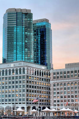 Photograph - A Blue Skyline by JC Findley