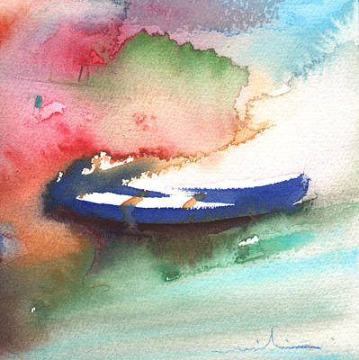 Painting - A Boat In Lanzarote by Miki De Goodaboom