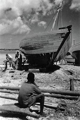 Photograph - A Boatyard In The Bahamas by Ivan Dmitri