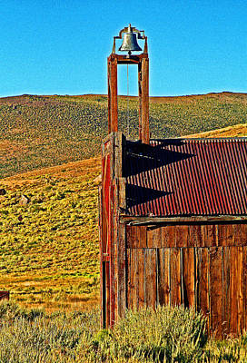Digital Art - A Bodie Bell by Joseph Coulombe