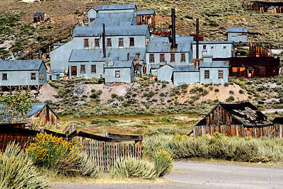 A Bodie View From Above Art Print by Joseph Coulombe