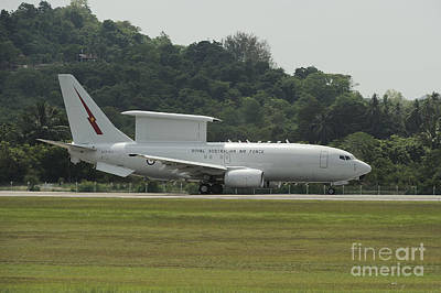 A Boeing E-7a Wedgetail Of The Royal Art Print by Remo Guidi