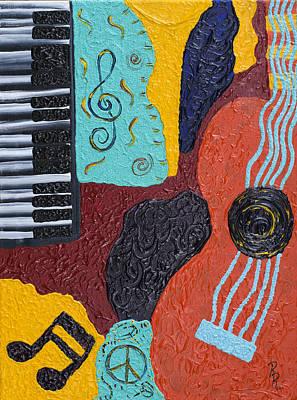 A Bold Session Art Print by Robin Hillman