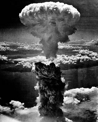 Hiroshima Photograph - A-bomb by Benjamin Yeager