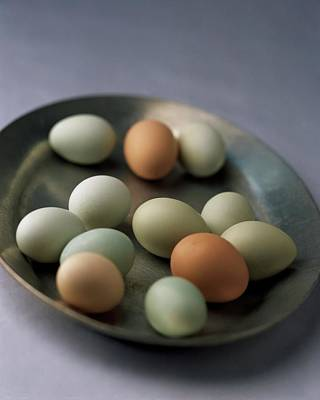 Cooking Photograph - A Bowl Of Eggs by Romulo Yanes