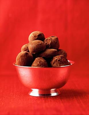 2001 Photograph - A Bowl Of Truffles by Romulo Yanes