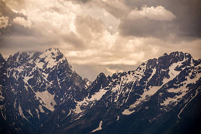 Teton Wall Art - Photograph - A Break Through by Kristopher Schoenleber