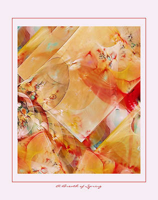 A Breath Of Spring Art Print by Gayle Odsather